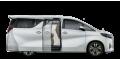 Toyota Alphard  - лого