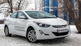 Hyundai Elantra 2014: Редкая ласточка