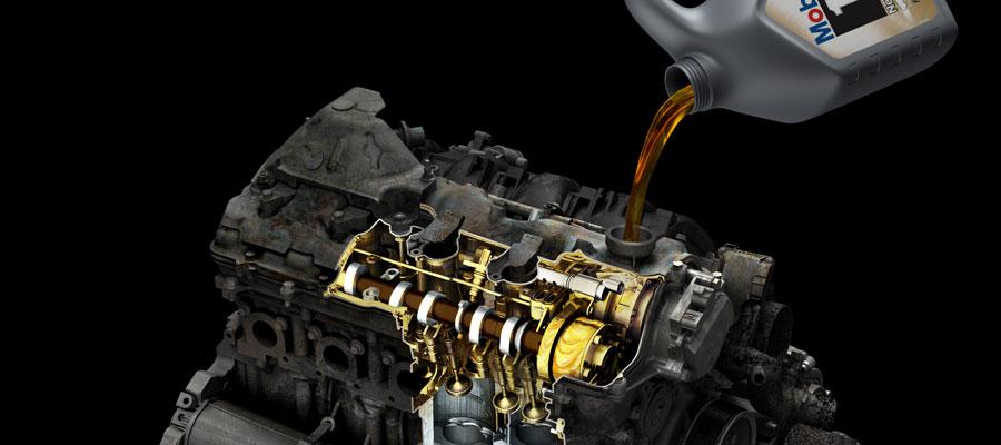 Масло в двигатель фото
