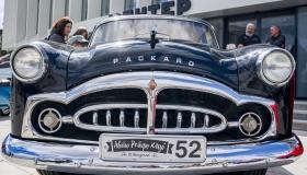 Выставка ретро автомобилей состоялась в День города в Нижнем Новгороде
