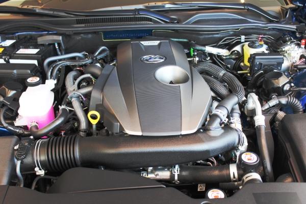 Двигатель  Lexus RC 200t