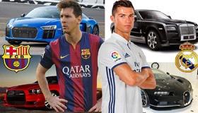На чем ездят лучшие футболисты мира?