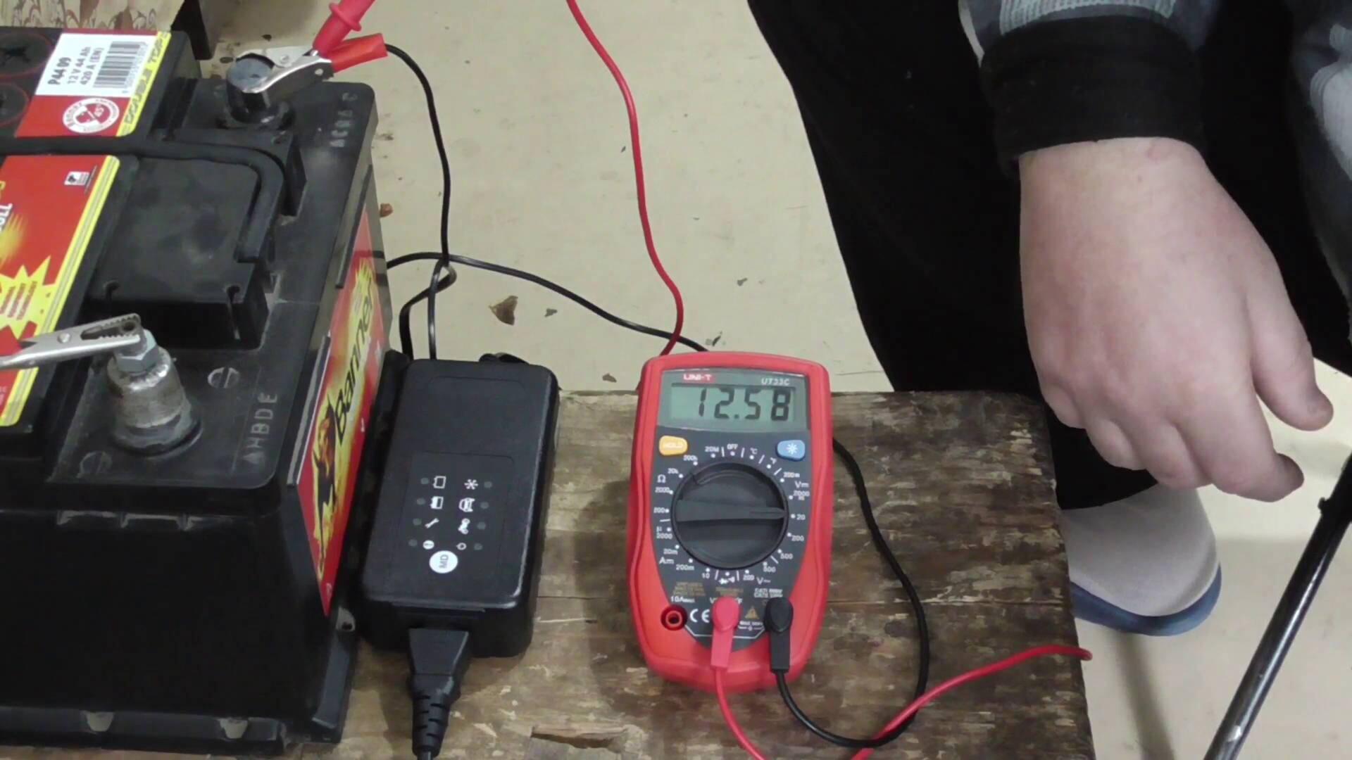 Правила зарядки аккумулятора на авто